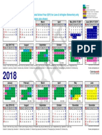 2017-2018 district calendar