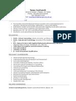 updated teresa southworth resume portfolio  2
