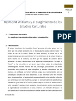 Artículo Raymond Williams y el surgimiento de los estudios culturales