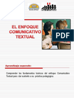 El Enfoque Comunicativo Textual 2
