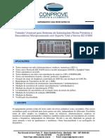 CE7024 Mala de Testes Para Subestacoes Testes Primarios e Secundarios