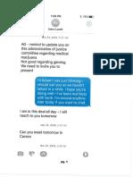Adam Laxalt/AG Burnett text messages