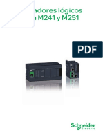 Catálogo - Modicon M241 y M251