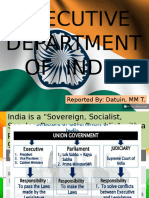 India Executive Branch II