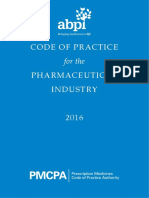 ABPI Code of Practice 2016