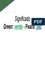 Green Peace