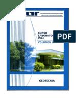 Libro Curso Laboratorista Vial Tomo III Geotecnia