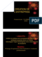Les Differents Aspects de Creation d'Une Enreprise