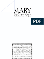 Mary The Mother of Jesus In The Quran