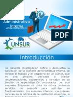 Asesoría Administrativa Interna