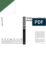 Políticas estéticas J Ranciére