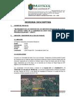 Memoria Descrip. Complejo Educ Santa Cruz 131015