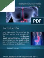 Trastornos funcionales esofágicos