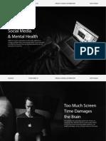 Social Media & Mental Health Presentation