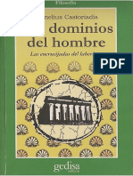 CASTORIADIS C. (1986 Los Dominios Del Hombre. Las Encrucijadas Del Laberinto)
