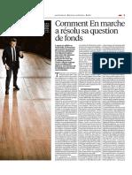 Comment en Marche a Résolu Sa Question de Fonds - Libération 2017 05 12