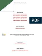 Unidad 2 - Estructura Del Trabajo a Entregar