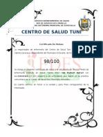 Certificado Notas