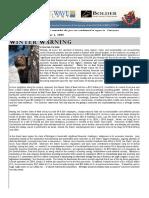 2008 WinterWarning Volume06 Issue01