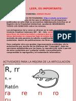 ACTIVIDADES MEJORA FONEMA RR MULTIPLE.ppt
