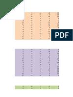 Matriz de Estructura