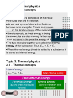 Thermal Physics Slideshow/Presentation for Edexcel A levels