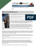 2008 WinterWarning Volume02 Issue01