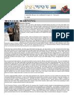 2009 Winter Warning Volume 1 Issue 1