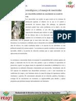 04. Los Grupos Toxicologicos y El Manejo de Insecticidas