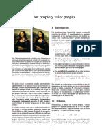 7. Vector Propio y Valor Propio