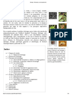 Biología - Wikipedia, La Enciclopedia Libre