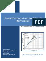 ELE343L16 - Operaional Amplifier Design IV - Brown