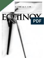 revista echinox 1-4/2008