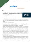 CA - Animo Separacion en Divorcio, Determinacion Presuncion Domicilio en Base a Supuestos Facticos