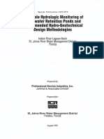 FullScale Hydrologic Design Methodologies SJ93-SP10