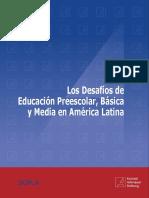 Los Desafíos de Educación Preescolar, Básica y Media en América Latina