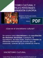 Sincretismo cultural y expansión europea