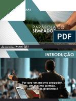 Palestra 03 - O Semeador