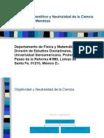 Desarrollo Científico Y Neutralidad de La Ciencia (PPTP