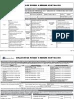 Matriz de Riesgo - Instalación y Montaje de Tanques