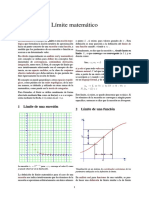 4. Límite matemático