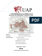 Trabajo sobre aeuitectura peruana II