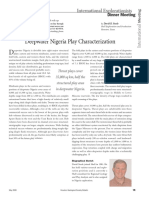 PhD_Abstract_ Deepwater Nigeria Play Characterization