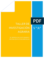 Taller de Investigacion Agraria Tarea 2
