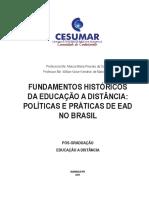 Fundamentos Historicos Da Educação a Distancia