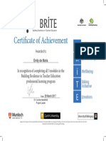 building resilience in teachers certificate