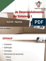 PDS I Aula 03 OpenUp