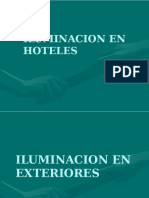 Iluminacion en Hoteles
