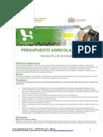 811 Bl CGA CursoPresupuestoAgricola 26-09-12