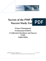 Secrets PMP Exam 1